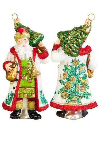 Joy To The World Collectibles Estonian Santa Ornament