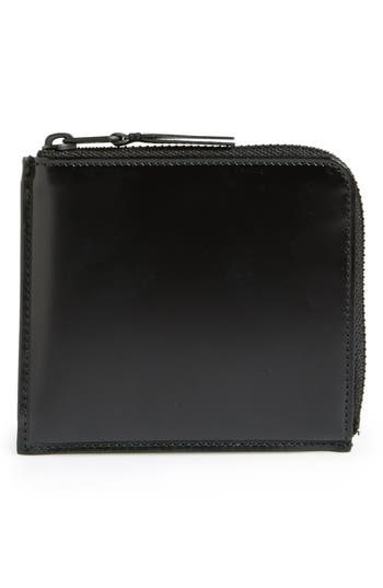 Comme Des Garcons Half Zip French Wallet -