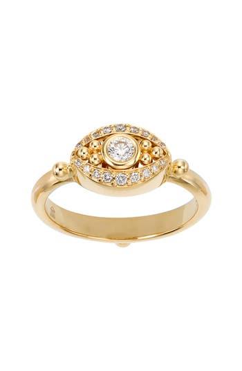 Women's Temple St. Clair Diamond Evil Eye Ring