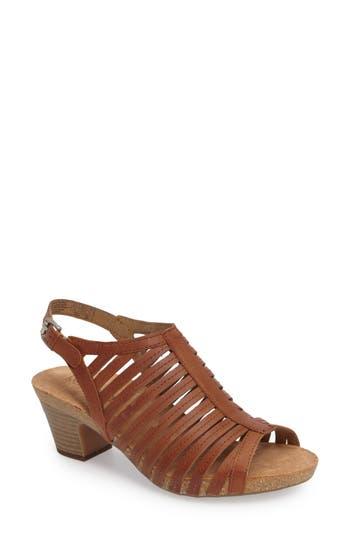 Women's Josef Seibel 'Ruth 21' Sandal, Size 5-5.5US / 36EU - Brown