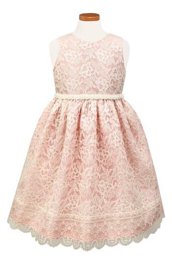 Girl's Sorbet Sleeveless Lace Dress