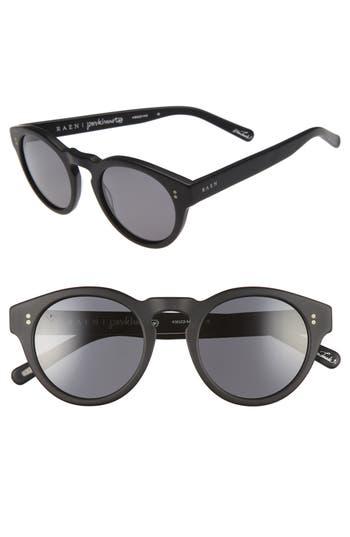 Women's Raen Parkhurst 49Mm Sunglasses - Matte Black