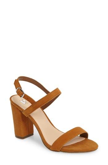 Women's Bp. Lula Block Heel Slingback Sandal, Size 9 M - Grey