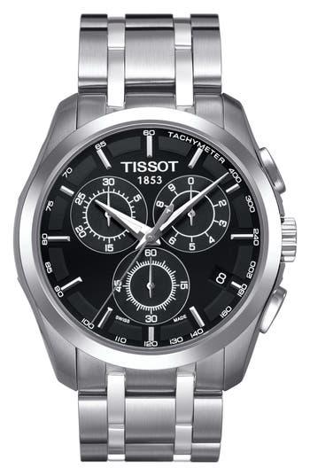 Tissot Couturier Chronograph Bracelet Watch, 41Mm