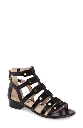 Women's Louise Et Cie Aria Studded Gladiator Sandal, Size 5.5 M - Black
