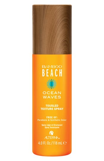 Alterna Bamboo Beach Ocean Waves Touseled Texture Spray