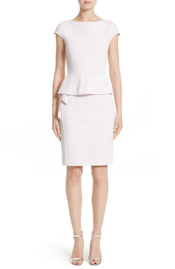 Women's St. John Collection Luxe Sculpture Knit Dress