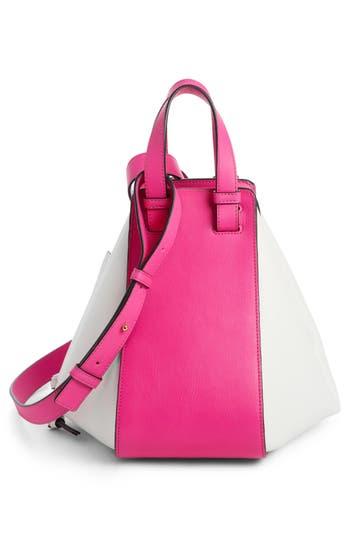 Loewe Small Hammock Leather Shoulder Bag - Pink