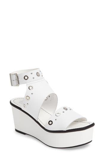 Women's Topshop Wizz Grommeted Platform Wedge Sandal