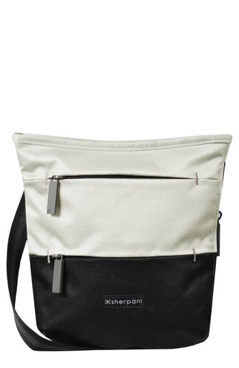 Sherpani Medium Sadie Crossbody Bag - White