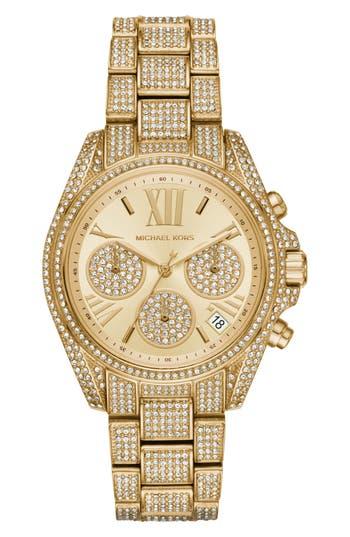 Women's Michael Kors Mini Bradshaw Bracelet Watch, 33Mm