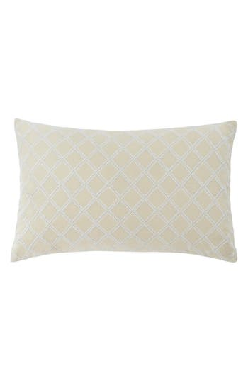 Southern Tie Southern Hospitality Trellis Accent Pillow, Size One Size - Beige