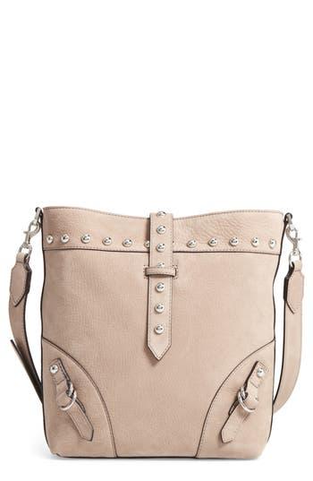 Rebecca Minkoff Rose Leather Bucket Bag - Beige