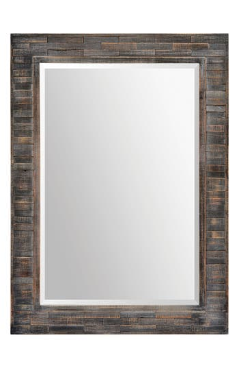 Renwil Liuhana Wooden Mirror, Size One Size - Grey