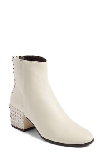 Dolce Vita Mazey Block Heel Bootie, White