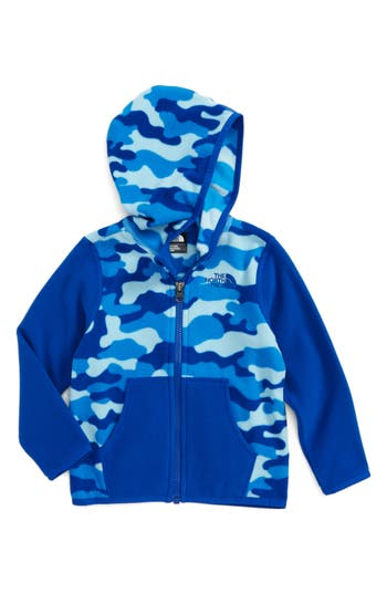 Infant Boy's The North Face 'Glacier' Zip Hoodie