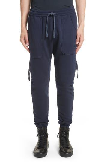 Drifter Muldoom Cargo Jogger Pants, Blue