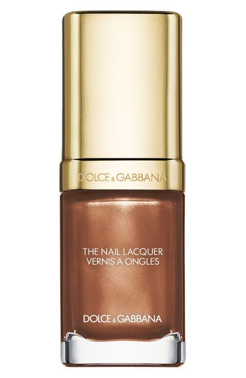 Dolce & gabbana Beauty 'The Nail Lacquer' Liquid Nail Lacquer - Baroque Bronze 825