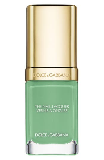 Dolce & gabbana Beauty 'The Nail Lacquer' Liquid Nail Lacquer - Mint 710