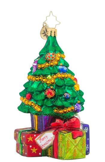 Christopher Radko Surprises Await Ornament, Size One Size - Blue