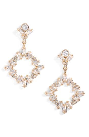 Women's Cz By Kenneth Jay Lane Drop Earrings