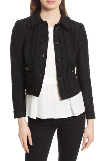 Women's Rebecca Taylor Sparkle Tweed Jacket