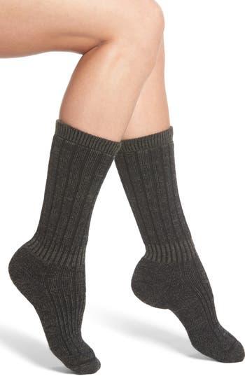Women's Wigwam Hiker Wool Blend Crew Socks, Size Medium - Green