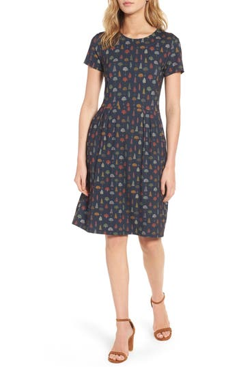 Women's Barbour Ared Tree Print Dress