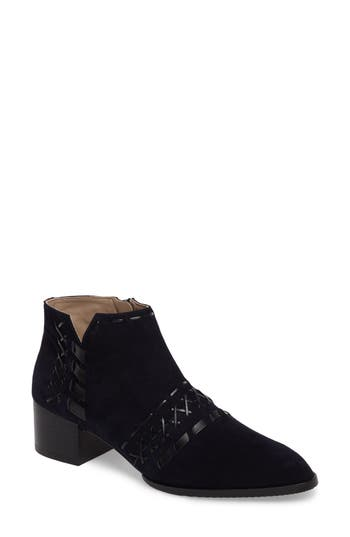 Donald J Pliner Bowery Woven Bootie- Blue