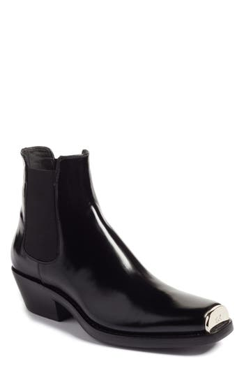 Calvin Klein 205W39Nyc Claire Western Chelsea Boot - Black