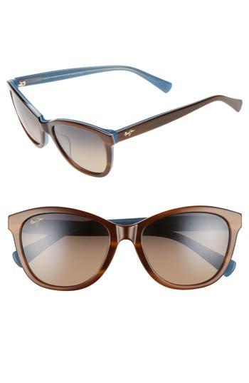Maui Jim Canna 5m Polarized Cat Eye Sunglasses -