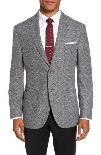 Men's Jkt New York Trim Fit Donegal Wool Blend Sport Coat