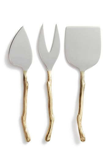 Nordstrom At Home Twig Set Of 3 Cheese Knives
