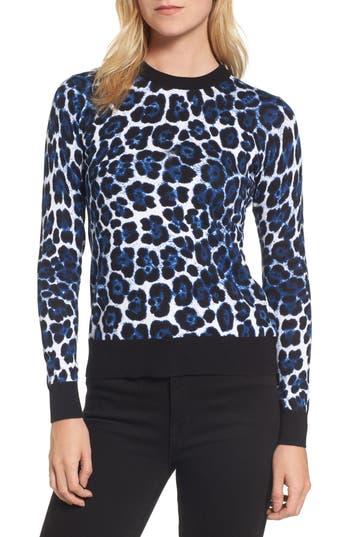 Women's Michael Michael Kors Cheetah Print Sweater