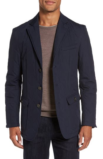 Men's Cardinal Of Canada Classic Fit Quilted Blazer