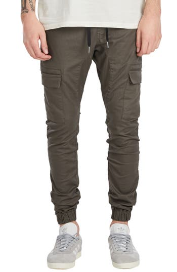 Zanerobe Sureshot Cargo Jogger Pants, Green