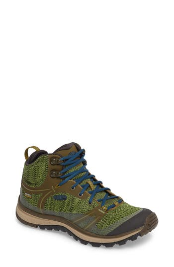 Keen Terradora Waterproof Hiking Boot, Green
