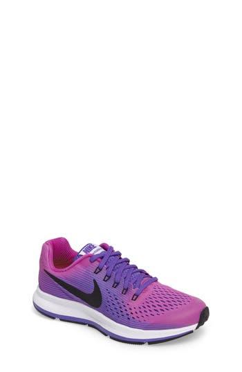 Girl's Nike Zoom Pegasus 34 Sneaker