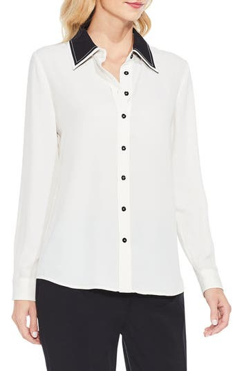 Women's Vince Camuto Long Sleeve Button Down Blouse