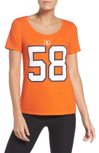 Women's Nike Player Pride Tee, Size Small - Orange