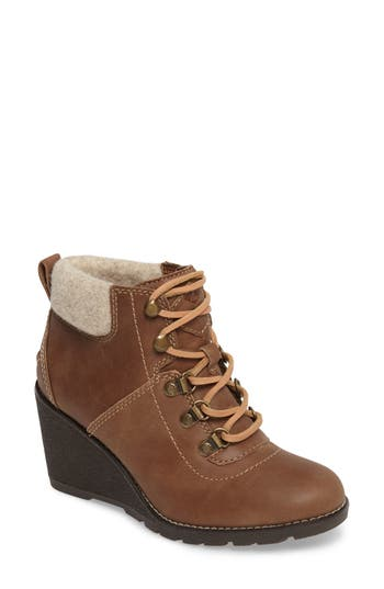 Sperry Top-Sider Celeste Bliss Wedge Boot- Brown