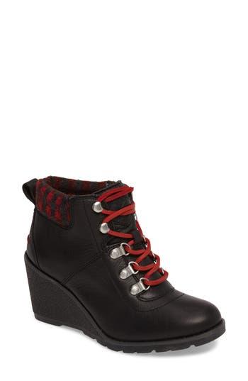 Sperry Top-Sider Celeste Bliss Wedge Boot- Black