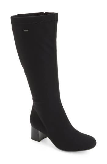 Ara Clarissa Waterproof Gore-Tex Tall Boot, Black