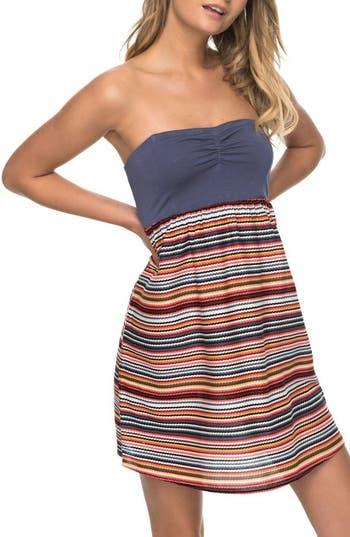 Roxy Ocean Romance Strapless Dress