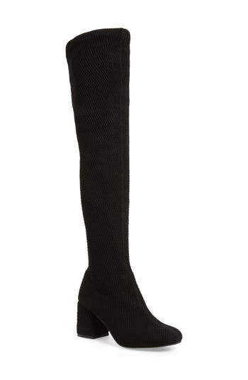 Seychelles Act One Stretch Over The Knee Boot, Black