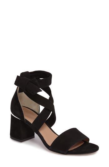 Women's Lewit Elda Ankle Wrap Sandal, Size 5US / 35EU - Black
