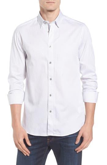 Men's Ted Baker London Modern Slim Fit Print Sport Shirt