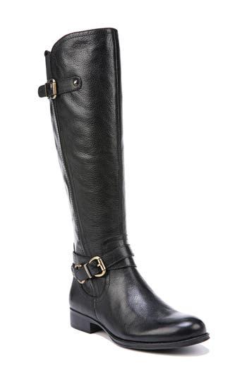 Naturalizer Jodee Knee High Boot, Wide Calf- Black