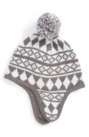 Infant Tucker + Tate Fair Isle Earflap Hat -