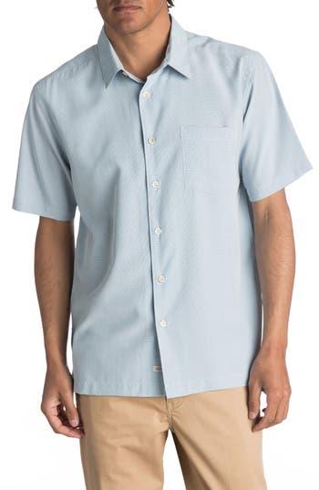 Men's Quiksilver Waterman Collection 'Cane Island' Regular Fit Short Sleeve Sport Shirt